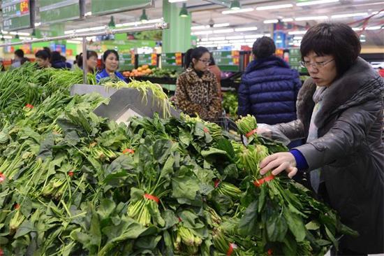 强降雪致蔬菜价格上涨